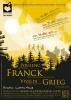 Affiche - Concert 2012 - Franck, Poulenc, Grieg, Vivaldi
