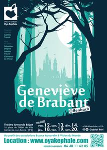 Affiche - Geneviève de Brabant