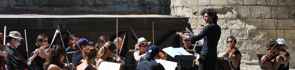Bannière - Tournée des 15 ans - L'orchestre